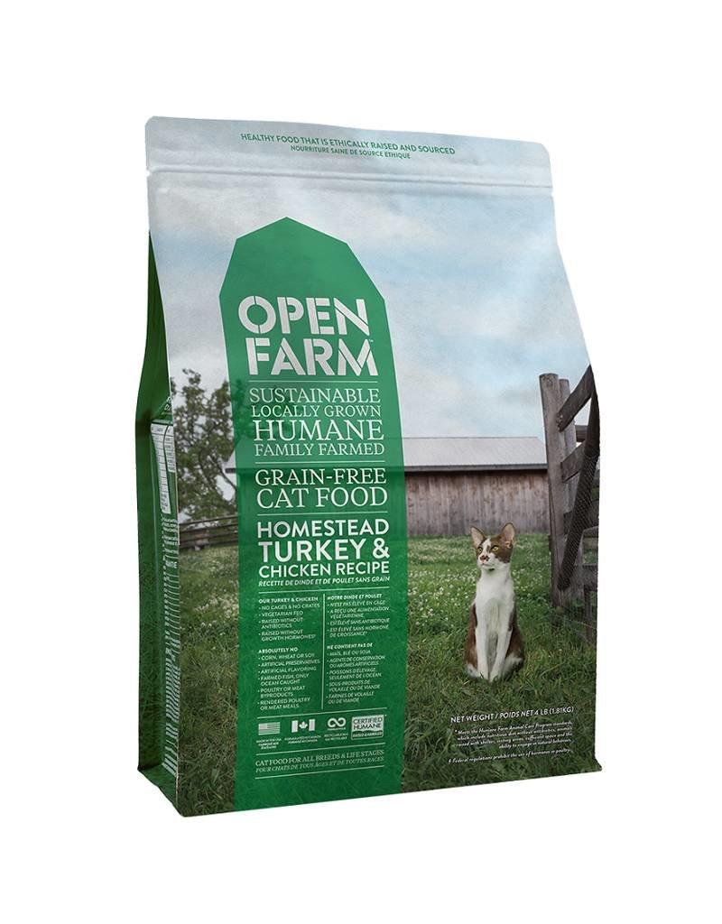 OPEN FARM Open Farm Homestead Turkey & Chicken Cat Food