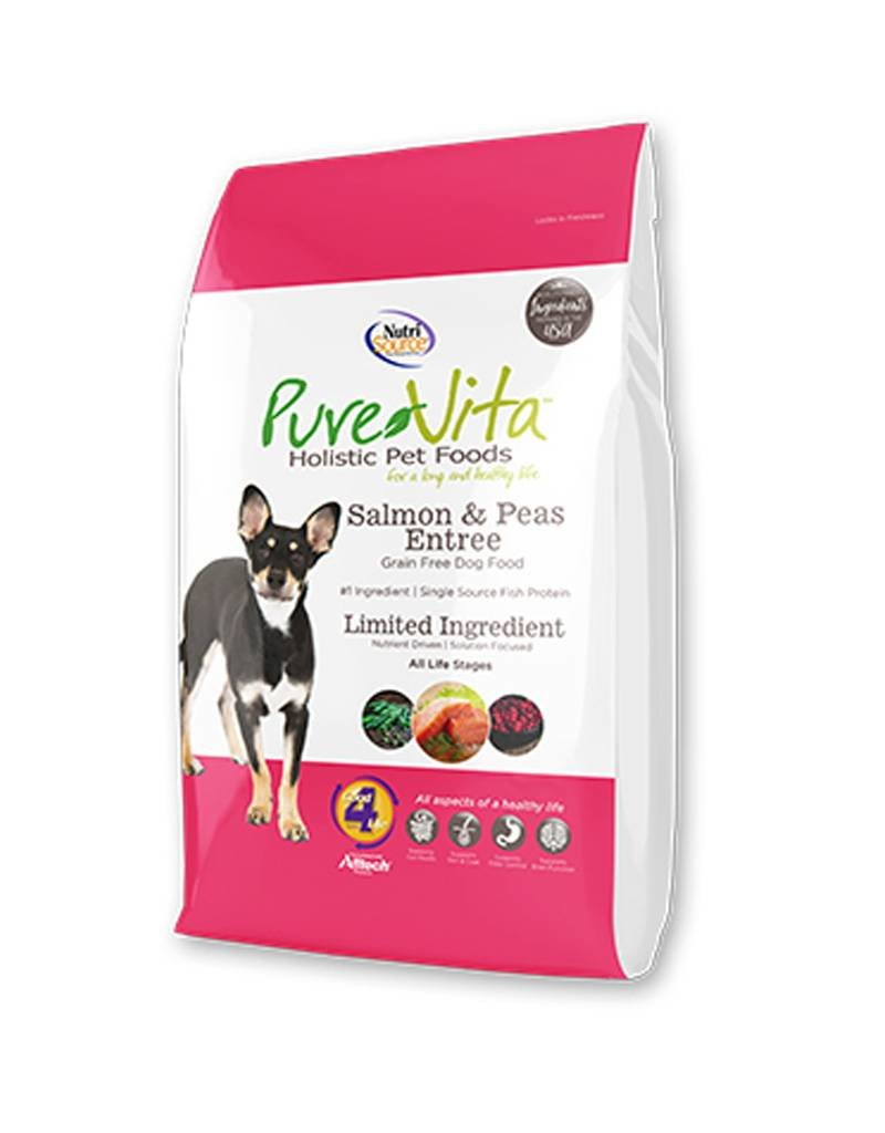 PURE VITA Pure Vita Grain Free Salmon & Peas Dog Food