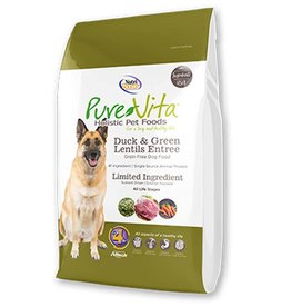 PURE VITA Pure Vita Grain Free Duck & Green Lentils Dog Food