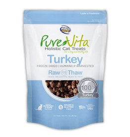 PURE VITA Pure Vita Freeze Dried Turkey Cat Treats