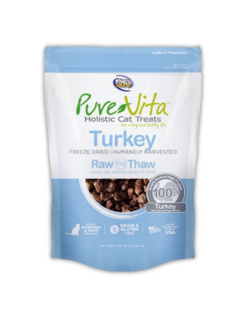 PURE VITA Pure Vita Freeze Dried Turkey Cat Treats 1oz