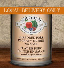 FROMM Fromm Four Star Shredded Pork 12oz Canned Dog Food (Case of 12)