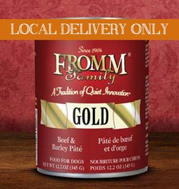 FROMM Fromm Gold Pate Beef & Barley 12.2oz Canned Dog Food (Case of 12)