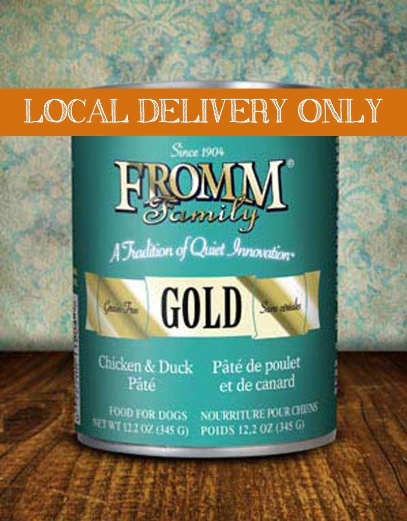 FROMM Fromm Gold Pate Chicken & Duck 12.2oz Canned Dog Food (Case of 12)