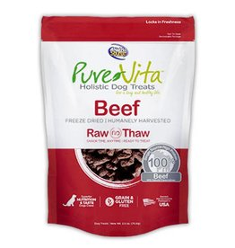 PURE VITA Pure Vita Freeze Dried Beef Dog Treats