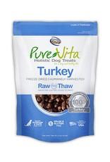 PURE VITA Pure Vita Freeze Dried Turkey Dog Treats 2.2oz