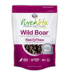 PURE VITA Pure Vita Freeze Dried Wild Boar Dog Treats