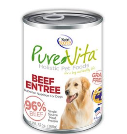 PURE VITA Pure Vita 96% Beef Entree for Dogs