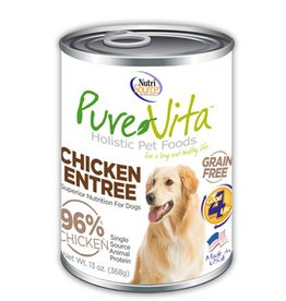 PURE VITA Pure Vita 96% Chicken Entree for Dogs
