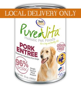 PURE VITA Pure Vita 96% Pork Entree for Dogs