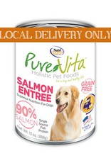 PURE VITA Pure Vita 90% Salmon Entree for Dogs 12/13oz Case