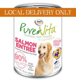 PURE VITA Pure Vita 90% Salmon Entree for Dogs