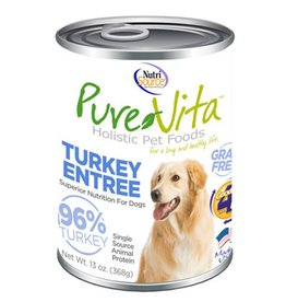 PURE VITA Pure Vita 96% Turkey Entree for Dogs