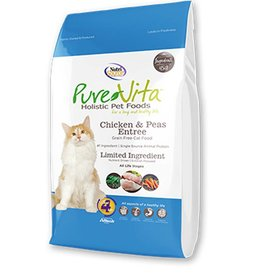 PURE VITA Pure Vita Grain Free Chicken & Peas Cat Food