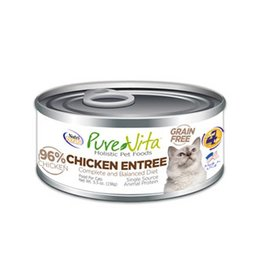 PURE VITA Pure Vita 96% Chicken Entree for Cats