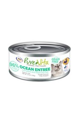 PURE VITA Pure Vita 96% Fish Ocean Entree for Cats 12/5.5oz Case
