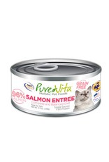 PURE VITA Pure Vita 96% Salmon Entree for Cats 12/5.5oz Case