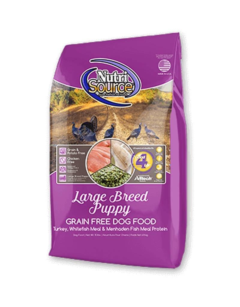 NUTRISOURCE Nutrisource Grain Free Puppy Large Breed Food