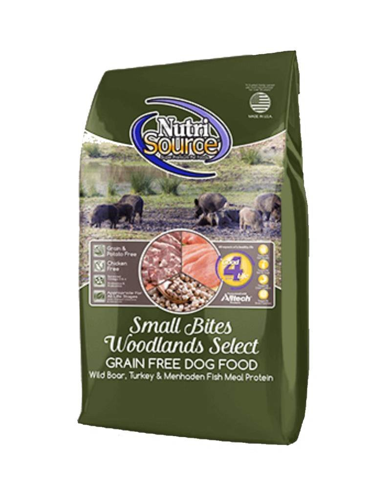 NUTRISOURCE Nutrisource Grain Free Woodlands Select Small Bites Dog Food