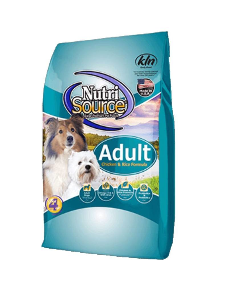 NUTRISOURCE Nutrisource Chicken & Rice Adult Dog Food