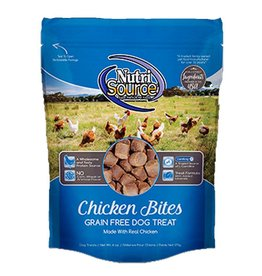 NUTRISOURCE Nutrisource Grain Free Chicken Bites Dog Treats