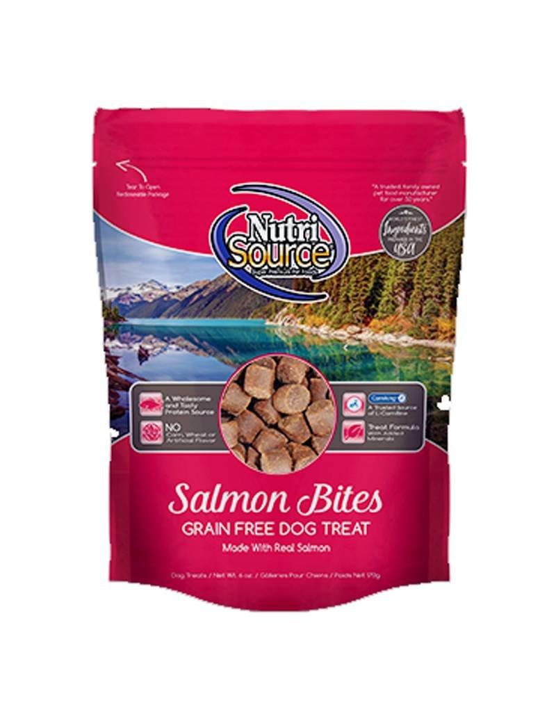 NUTRISOURCE Nutrisource Grain Free Salmon Bites Dog Treats 6oz