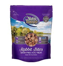 NUTRISOURCE Nutrisource Grain Free Rabbit Bites Dog Treats