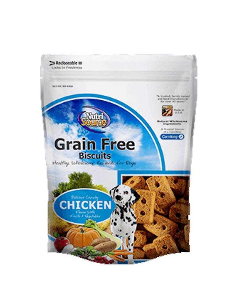 NUTRISOURCE Nutrisource Grain Free Chicken Biscuits for Dogs 14oz