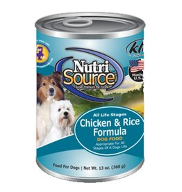 NUTRISOURCE Nutrisource Chicken & Rice Canned Dog Food