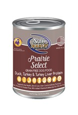 NUTRISOURCE Nutrisource Grain Free Prairie Select Canned Dog Food 12/13oz