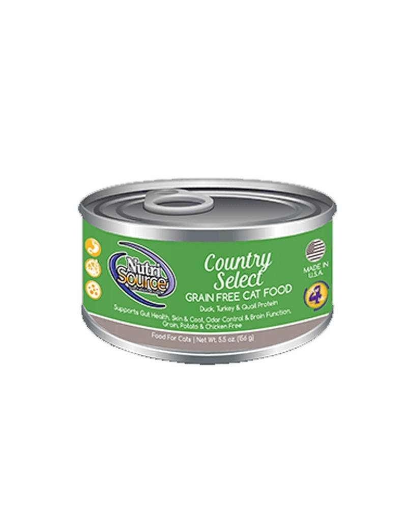 NUTRISOURCE Nutrisource Grain Free Country Select Canned Cat Food 12/5.5oz