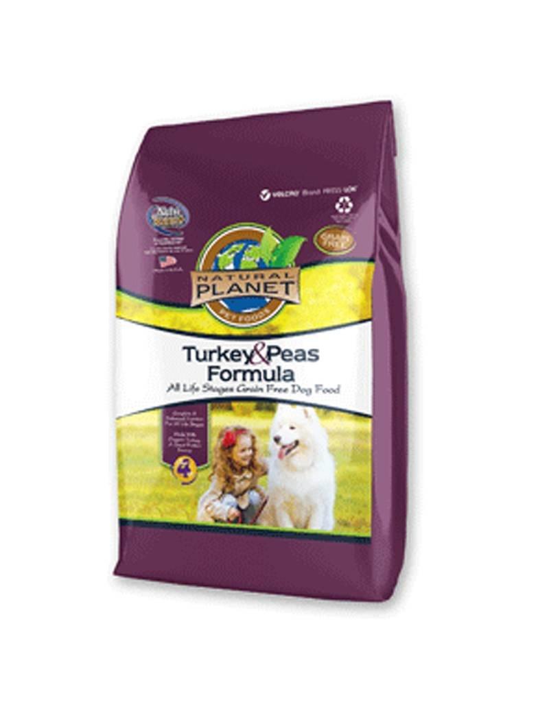 NATURAL PLANET Natural Planet Grain Free Organic Turkey & Peas Dog Food