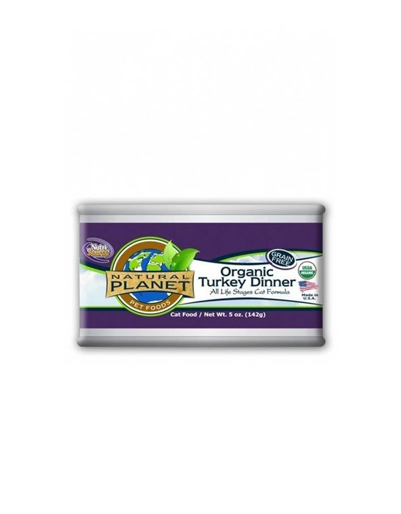 NATURAL PLANET Natural Planet Organic Turkey Dinner for Cats 12/5iz