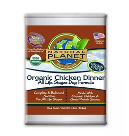 NATURAL PLANET Natural Planet Organic Chicken Dinner for Dogs