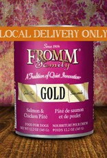 FROMM Fromm Gold Pate Salmon & Chicken 12.2oz Canned Dog Food (Case of 12)