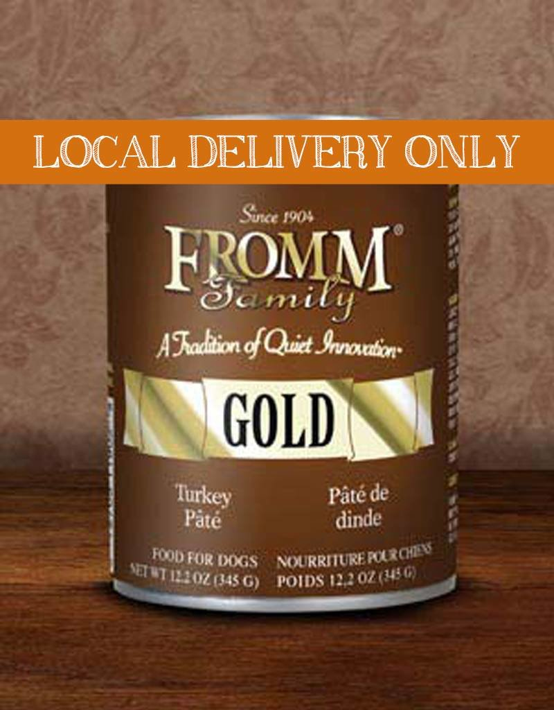 FROMM Fromm Gold Pate Turkey 12.2oz Canned Dog Food (Case of 12)