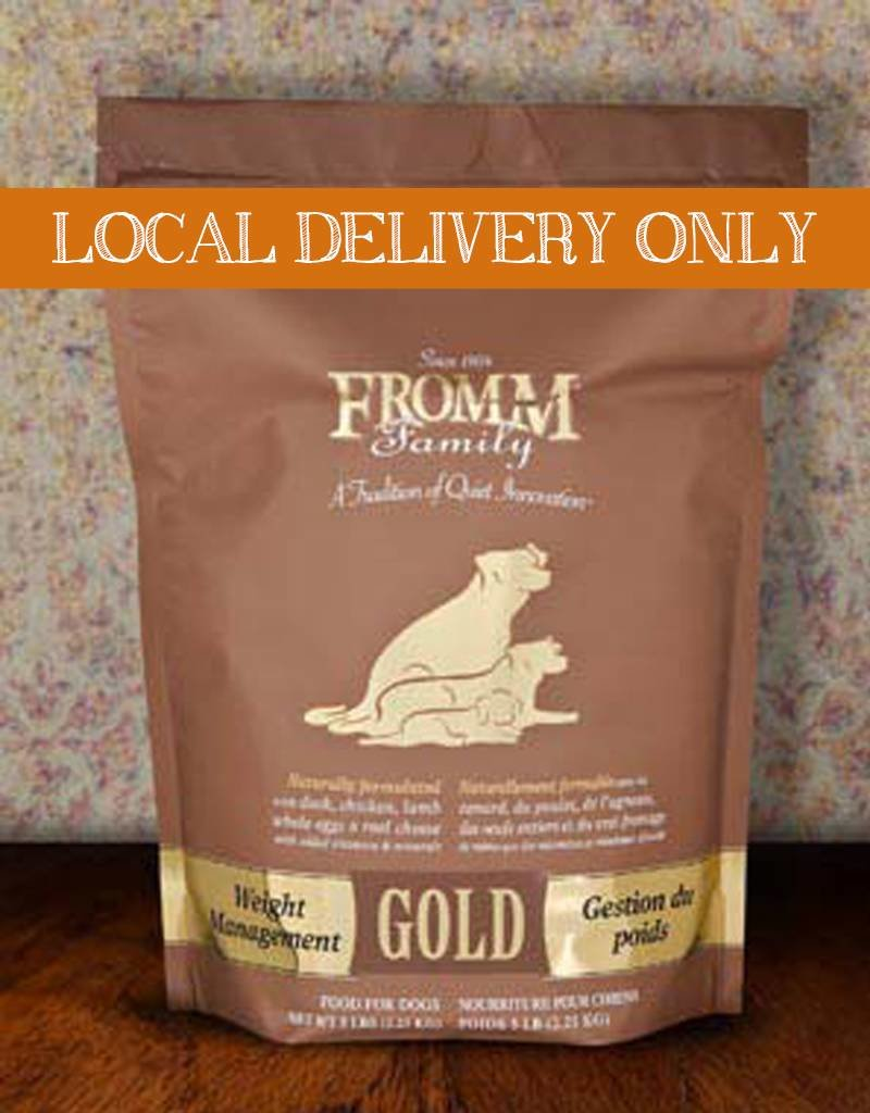 FROMM Fromm Gold Weight Management Dog Food