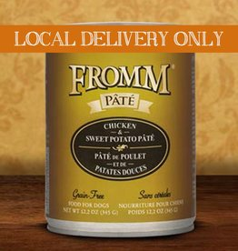 FROMM Fromm Pate Chicken & Sweet Potato 12.2oz Canned Dog Food (Case of 12)