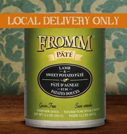 FROMM Fromm Pate Lamb & Sweet Potato 12.2oz Canned Dog Food (Case of 12)