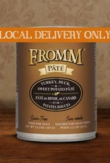 FROMM Fromm Pate Turkey, Duck & Sweet Potato 12.2oz Canned Dog Food (Case of 12)