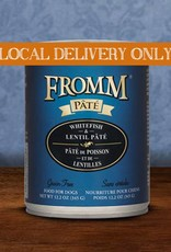 FROMM Fromm Pate Whitefish & Lentils 12.2oz Canned Dog Food (Case of 12)