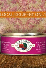 FROMM Fromm Four Star Pate Chicken, Duck & Salmon 5.5oz Canned Cat Food (Case of 12)