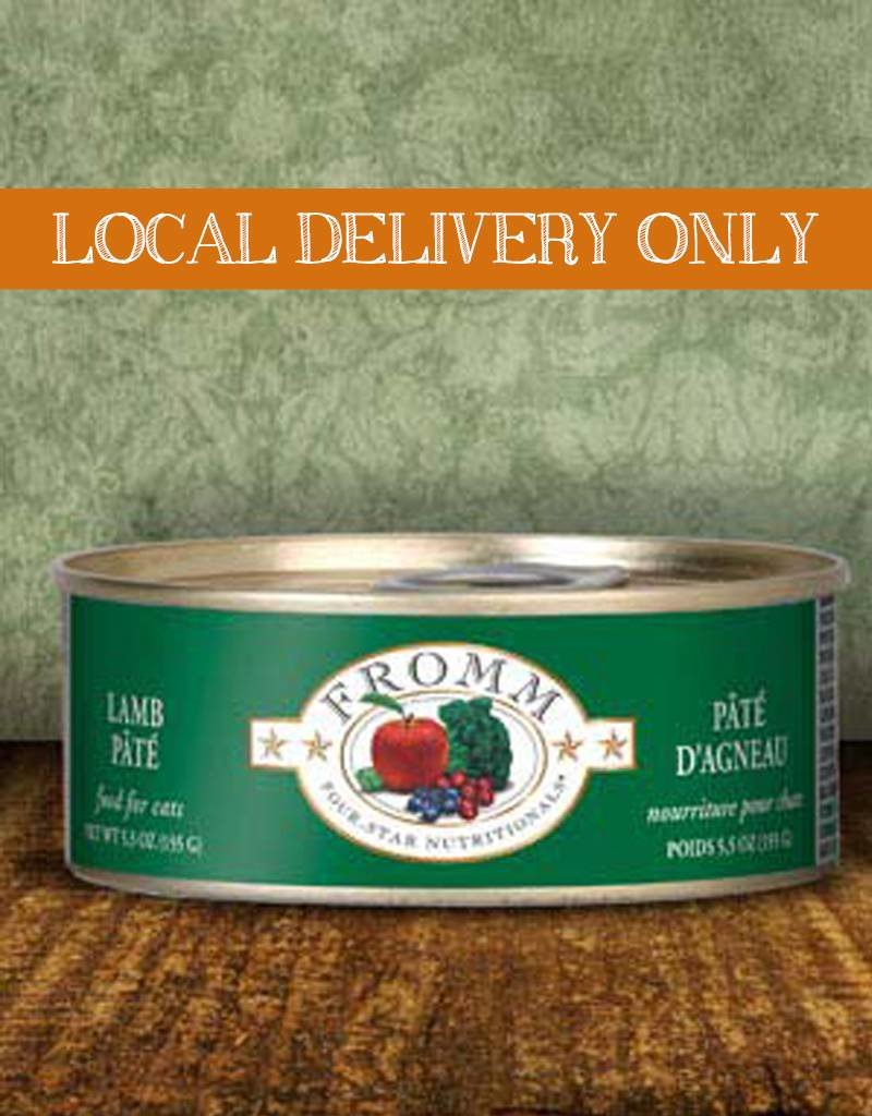 FROMM Fromm Four Star Pate Lamb 5.5oz Canned Cat Food (Case of 12)