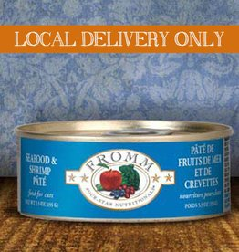 FROMM Fromm Four Star Pate Seafood & Shrimp 5.5oz Canned Cat Food (Case of 12)