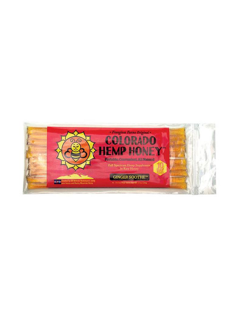 COLORADO HEMP HONEY Colorado Hemp Honey Ginger Soothe 10pk