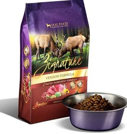 ZIGNATURE Zignature Venison Dog Food