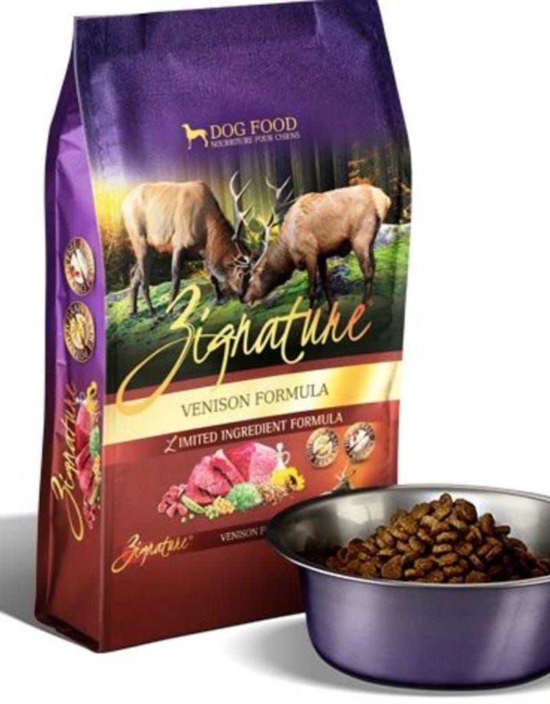 ZIGNATURE Zignature Venison Dog Food