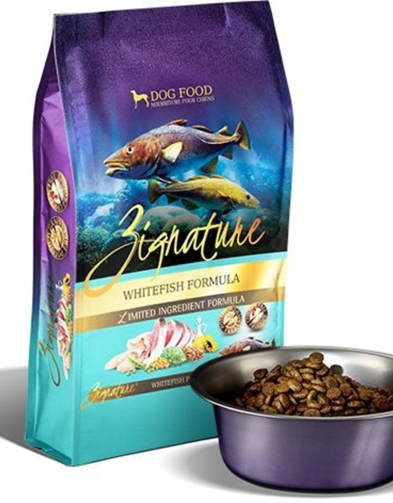ZIGNATURE Zignature Whitefish Dog Food