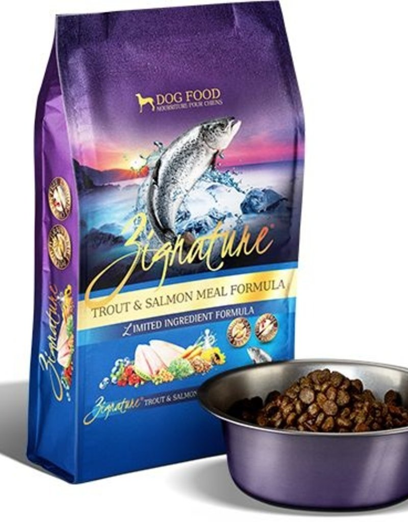 ZIGNATURE Zignature Trout & Salmon Dog Food