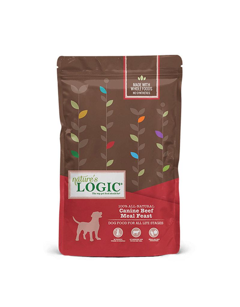 NATURE'S LOGIC Nature's Logic Beef Meal Feast Dog Food 26.4lb